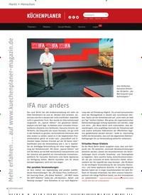 Titelbild der Ausgabe 6/2020 von IFA nur anders. Zeitschriften als Abo oder epaper bei United Kiosk online kaufen.