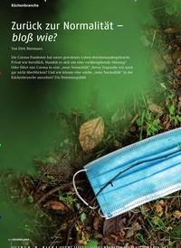 Titelbild der Ausgabe 6/2020 von Zurück zur Normalität – bloß wie?. Zeitschriften als Abo oder epaper bei United Kiosk online kaufen.
