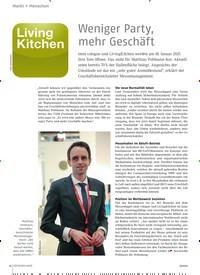 Titelbild der Ausgabe 9/2020 von Weniger Party, mehr Geschäft. Zeitschriften als Abo oder epaper bei United Kiosk online kaufen.