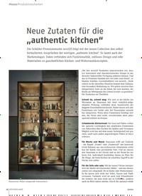 """Titelbild der Ausgabe 9/2020 von Neue Zutaten für die """"authentic kitchen"""". Zeitschriften als Abo oder epaper bei United Kiosk online kaufen."""