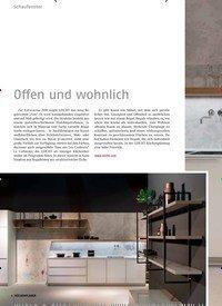 Titelbild der Ausgabe 6/2018 von Schaufenster: Offen und wohnlich. Zeitschriften als Abo oder epaper bei United Kiosk online kaufen.