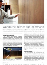 Titelbild der Ausgabe 6/2018 von Wohnliche Küchen für jedermann. Zeitschriften als Abo oder epaper bei United Kiosk online kaufen.