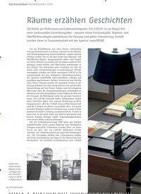 Titelbild der Ausgabe 12/2018 von Küchenmöbel / Kollektionen 2019: Räume erzählen Geschichten. Zeitschriften als Abo oder epaper bei United Kiosk online kaufen.