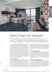 Titelbild der Ausgabe 12/2018 von Küchenmöbel / Kollektionen 2019: Keine Frage des Budgets. Zeitschriften als Abo oder epaper bei United Kiosk online kaufen.