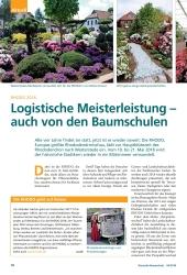 Titelbild der Ausgabe 4/2018 von RHODO 2018: Logistische Meisterleistung – auch von den Baumschulen. Zeitschriften als Abo oder epaper bei United Kiosk online kaufen.