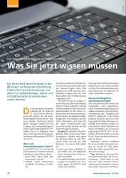 Titelbild der Ausgabe 5/2018 von Die neue EU-Datenschutz-Grundverordnung: Was Sie jetzt wissen müssen. Zeitschriften als Abo oder epaper bei United Kiosk online kaufen.