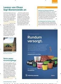 Titelbild der Ausgabe 6/2018 von Lorenz von Ehren legt Bienenweide an. Zeitschriften als Abo oder epaper bei United Kiosk online kaufen.