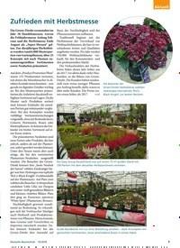 Titelbild der Ausgabe 10/2018 von Zufrieden mit Herbstmesse. Zeitschriften als Abo oder epaper bei United Kiosk online kaufen.