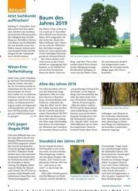 Titelbild der Ausgabe 12/2018 von Allee des Jahres 2018. Zeitschriften als Abo oder epaper bei United Kiosk online kaufen.