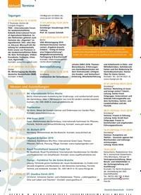 Titelbild der Ausgabe 12/2018 von Termine. Zeitschriften als Abo oder epaper bei United Kiosk online kaufen.