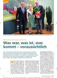 Titelbild der Ausgabe 1/2019 von BdB Landesverbandstagung Weser-Ems: Was war, was ist, was kommt – voraussichtlich. Zeitschriften als Abo oder epaper bei United Kiosk online kaufen.