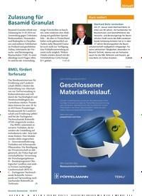 Titelbild der Ausgabe 3/2019 von BMEL fördert Torfersatz. Zeitschriften als Abo oder epaper bei United Kiosk online kaufen.