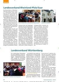 Titelbild der Ausgabe 3/2019 von Landesverband Württemberg. Zeitschriften als Abo oder epaper bei United Kiosk online kaufen.