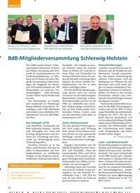 Titelbild der Ausgabe 3/2019 von BdB-Mitgliederversammlung Schleswig-Holstein. Zeitschriften als Abo oder epaper bei United Kiosk online kaufen.
