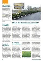 Titelbild der Ausgabe 6/2019 von NL: weniger Baumschulfläche. Zeitschriften als Abo oder epaper bei United Kiosk online kaufen.