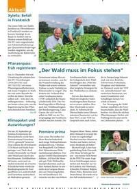 """Titelbild der Ausgabe 10/2019 von """"Der Wald muss im Fokus stehen"""". Zeitschriften als Abo oder epaper bei United Kiosk online kaufen."""