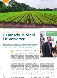 Titelbild der Ausgabe 11/2019 von Unterlagen nach EU-Öko-Verordnung: Baumschule Stahl ist Vorreiter. Zeitschriften als Abo oder epaper bei United Kiosk online kaufen.