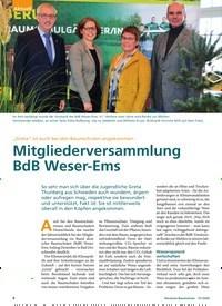 """Titelbild der Ausgabe 1/2020 von """"Greta"""" ist auch bei den Baumschulen angekommen: Mitgliederversammlung BdB Weser-Ems. Zeitschriften als Abo oder epaper bei United Kiosk online kaufen."""