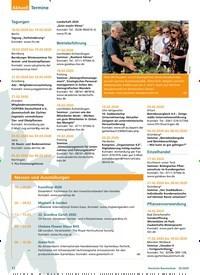 Titelbild der Ausgabe 2/2020 von Termine. Zeitschriften als Abo oder epaper bei United Kiosk online kaufen.