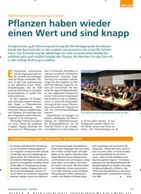 Titelbild der Ausgabe 2/2020 von BdB-Mitgliederversammlung in Goslar: Pflanzen haben wieder einen Wert und sind knapp. Zeitschriften als Abo oder epaper bei United Kiosk online kaufen.