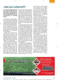 """Titelbild der Ausgabe 2/2020 von """"ZgG gut aufgestellt"""". Zeitschriften als Abo oder epaper bei United Kiosk online kaufen."""