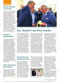 """Titelbild der Ausgabe 3/2020 von Zur """"Teatime"""" mit Prinz Charles. Zeitschriften als Abo oder epaper bei United Kiosk online kaufen."""
