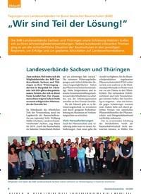 """Titelbild der Ausgabe 3/2020 von Tagungen von Landesverbänden im Bund deutscher Baumschulen (BdB): """"Wir sind Teil der Lösung!"""". Zeitschriften als Abo oder epaper bei United Kiosk online kaufen."""