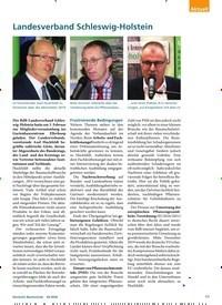 Titelbild der Ausgabe 3/2020 von Landesverband Schleswig-Holstein. Zeitschriften als Abo oder epaper bei United Kiosk online kaufen.