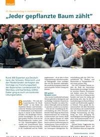 """Titelbild der Ausgabe 3/2020 von 25. Baumschultag in Veitshöchheiml: """"Jeder gepflanzte Baum zählt"""". Zeitschriften als Abo oder epaper bei United Kiosk online kaufen."""