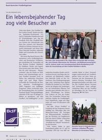 Titelbild der Ausgabe 10/2018 von Bund deutscher Friedhofsgärtner : TAG DES FRIEDHOFS 2018 : Ein lebensbejahender Tag zog viele Besucher an. Zeitschriften als Abo oder epaper bei United Kiosk online kaufen.