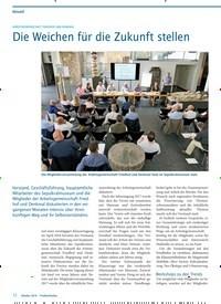 Titelbild der Ausgabe 10/2018 von ARBEITSGEMEINSCHAFT FRIEDHOF UND DENKMAL: Die Weichen für die Zukunft stellen.. Zeitschriften als Abo oder epaper bei United Kiosk online kaufen.