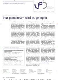 Titelbild der Ausgabe 1/2019 von Verband der Friedhofsverwalter Deutschlands e.V. GRUSSWORT ZUM JAHRESWECHSEL 2018/2019: Nur gemeinsam wird es gelingen. Zeitschriften als Abo oder epaper bei United Kiosk online kaufen.