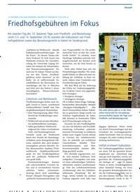 Titelbild der Ausgabe 1/2019 von 10. SPEYERER TAGE ZUM FRIEDHOFS-UND BESTATTUNGSRECHT 2018 (TEIL 2): Friedhofsgebühren im Fokus. Zeitschriften als Abo oder epaper bei United Kiosk online kaufen.