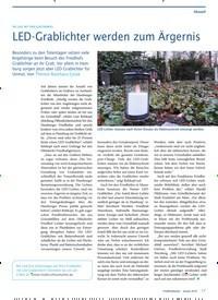 Titelbild der Ausgabe 1/2019 von DIE LAST MIT DEM ELEKTROMÜLL: AöRLED-Grablichter werden zum Ärgernis. Zeitschriften als Abo oder epaper bei United Kiosk online kaufen.