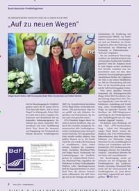 """Titelbild der Ausgabe 3/2019 von Bund deutscher Friedhofsgärtner: """"Auf zu neuen Wegen"""". Zeitschriften als Abo oder epaper bei United Kiosk online kaufen."""