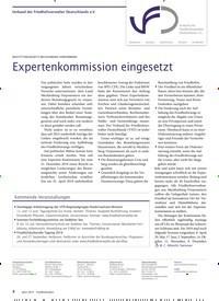 Titelbild der Ausgabe 4/2019 von BESTATTUNGSGESETZ MECKLENBURG-VORPOMMERN: Expertenkommission eingesetzt. Zeitschriften als Abo oder epaper bei United Kiosk online kaufen.