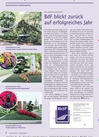 Titelbild der Ausgabe 12/2019 von Bund deutscher Friedhofsgärtner: BUGA HEILBRONN EIN HIGHLIGHT: BdF blickt zurück auf erfolgreiches Jahr. Zeitschriften als Abo oder epaper bei United Kiosk online kaufen.