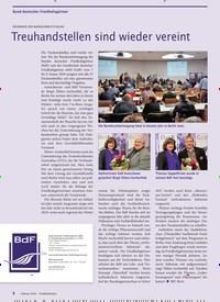 Titelbild der Ausgabe 2/2020 von ERGEBNISSE DER BUNDESARBEITSTAGUNG: Treuhandstellen sind wieder vereint. Zeitschriften als Abo oder epaper bei United Kiosk online kaufen.