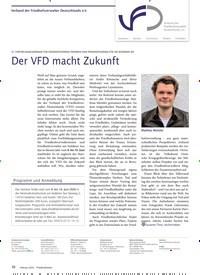 Titelbild der Ausgabe 2/2020 von Der VFD macht Zukunft. Zeitschriften als Abo oder epaper bei United Kiosk online kaufen.