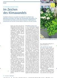 Titelbild der Ausgabe 3/2020 von 85. INTERNATIONALE GRÜNE WOCHE IN BERLIN: Im Zeichen des Klimawandels. Zeitschriften als Abo oder epaper bei United Kiosk online kaufen.