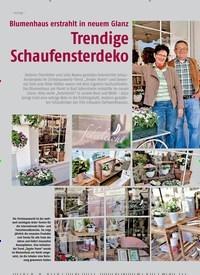 Titelbild der Ausgabe 1/2015 von Blumenhaus erstrahlt in neuem Glanz Trendige Schaufensterdeko. Zeitschriften als Abo oder epaper bei United Kiosk online kaufen.
