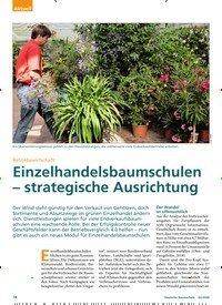 Titelbild der Ausgabe 2/2020 von Betriebswirtschaft: Einzelhandelsbaumschulen – strategische Ausrichtung. Zeitschriften als Abo oder epaper bei United Kiosk online kaufen.