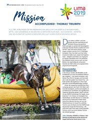 Titelbild der Ausgabe 9/2019 von Mission ACCOMPLISHED-THOMAS' TRIUMPH. Zeitschriften als Abo oder epaper bei United Kiosk online kaufen.