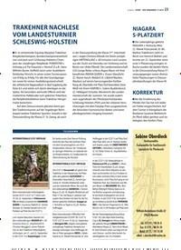 Titelbild der Ausgabe 11/2019 von TRAKEHNER NACHLESE VOM LANDESTURNIER SCHLESWIG-HOLSTEIN. Zeitschriften als Abo oder epaper bei United Kiosk online kaufen.