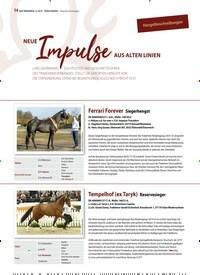 Titelbild der Ausgabe 12/2019 von Hengstbeschreibungen: NEUE Impulse NEUE AUS ALTEN LINIEN. Zeitschriften als Abo oder epaper bei United Kiosk online kaufen.