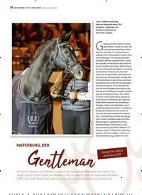 Titelbild der Ausgabe 12/2019 von Hengst des Jahres Insterburg TSF: INSTERBURG, DER Gentleman. Zeitschriften als Abo oder epaper bei United Kiosk online kaufen.