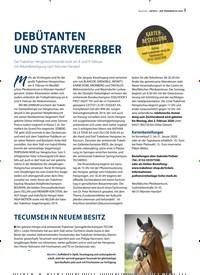 Titelbild der Ausgabe 2/2020 von DEBÜTANTEN UND STARVERERBER. Zeitschriften als Abo oder epaper bei United Kiosk online kaufen.