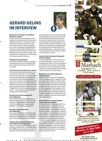Titelbild der Ausgabe 3/2020 von GERARD GELING IM INTERVIEW. Zeitschriften als Abo oder epaper bei United Kiosk online kaufen.