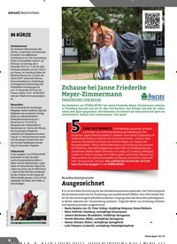 Titelbild der Ausgabe 10/2019 von Nachrichten: IN KÜRZE. Zeitschriften als Abo oder epaper bei United Kiosk online kaufen.