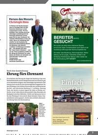 Titelbild der Ausgabe 10/2019 von Noch eine Auszeichnung: Ehrung fürs Ehrenamt. Zeitschriften als Abo oder epaper bei United Kiosk online kaufen.